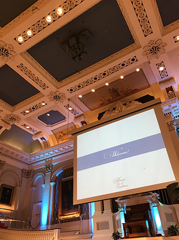 Mechanics Hall, built in 1857, provided the backdrop for this year's PINE Industry Awards Gala.