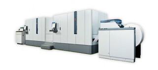 The Océ ColorStream 3900 monochrome inkjet press.