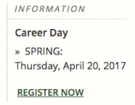 Career Day Registration