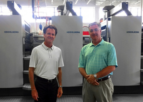 Co-Owners of Brodnax Printing, Jim Singer, left, and Mike Campbell, right.