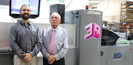 From the left, SunDance Managing Director John Henry Ruggier and Board Chairman John Ruggieri.