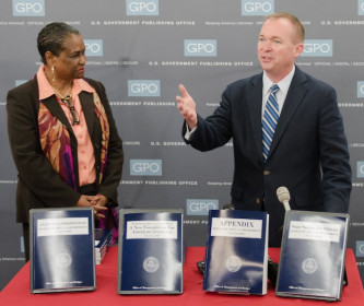 OMB Director Mick Mulvaney Visited the GPO