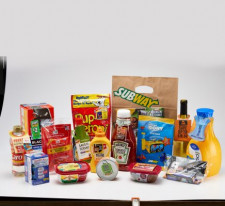 NCL Graphic Specialties produces labels and coupon attachments for packaging produced by other converters. It is crucial that the branding on the packaging and attachments match. Image courtesy of NCL Graphic Specialties.