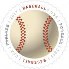 USPS forever stamp baseball