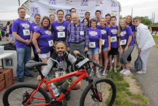 Canon Solutions America customer PrintWorks & Co. is a sponsor of the annual Amy's Ride-Run-Walk in Quakertown, Pa.