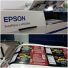 The Epson SurePress L-4033AW digital label press.