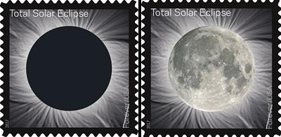 solar eclipse stamp