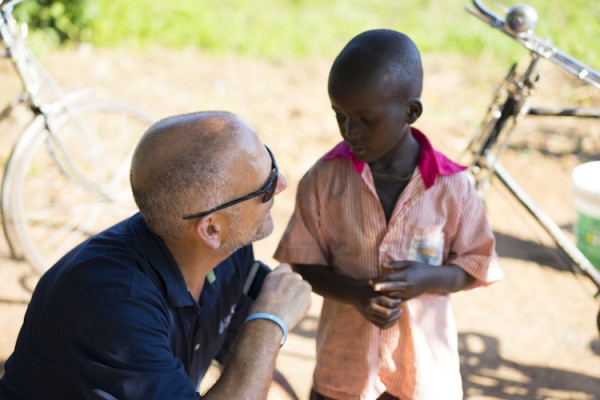 Narducci has made it his mission to provide Africans with clean water for life.