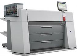 The Océ ColorWave 910 large-format color printer.
