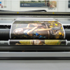 The Screen Truepress Jet W3200UV HS high-speed UV flatbed inkjet printer.