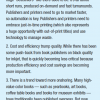 Top 3 Book Publishing/Manufacturing Takeaways