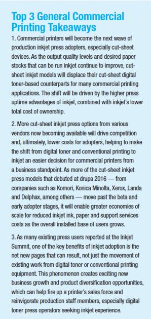 Top 3 General Commercial Printing Takeaways