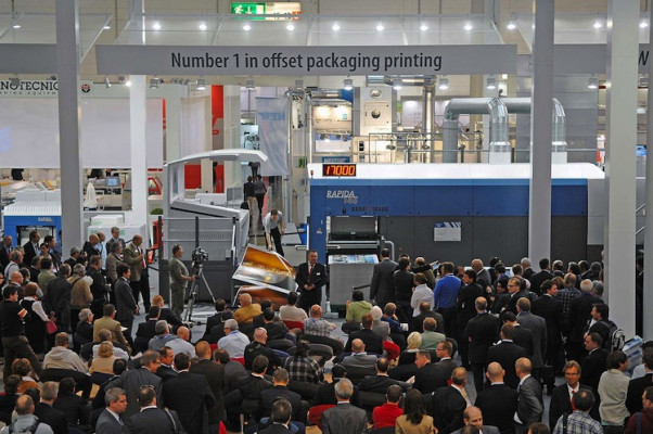 drupa 2012: New dimensions of performance in large format with the Rapida 145.
