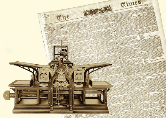 "November 29, 1814: The London ""Times"" Printed on KBA"