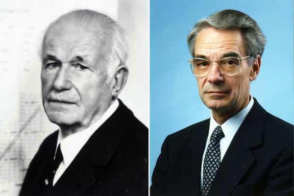 Dr. Hans Bolza † (CEO from 1931 to 1971) and Dr. Hans-Bernhard Bolza-Schünemann † (CEO from 1971 to 1995)..