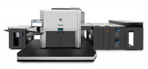 The HP Indigo 12000 digital press.