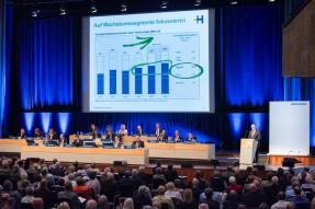 AGM of Heidelberg for financial year 2016/2017.