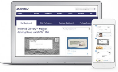 Informed Delivery: The benefits of Informed Delivery include the ability to view your household's mail at any time from any location using a smartphone, tablet, or computer even when traveling.