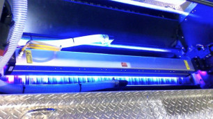 AMS Led UV in action.