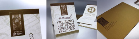 Designing and Printing with Metallic Ink: Event Invitation Mailer
