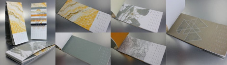 DESIGNING AND PRINTING WITH METALLIC INK: Interactive Perforated Reveal Calendar + Envelope