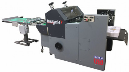 PRINT 17 New Product Showcase: The Insignia7 larger-format diecutter from Rollem International.