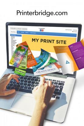 4over Inc.'s PrinterBridge Web-to-print solution.