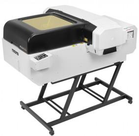 Mutoh America's ValueJet 626UF tabletop, LED-UV, flatbed printer.
