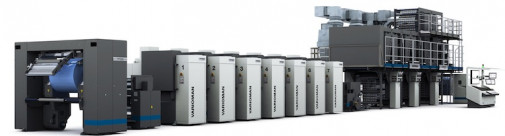 manroland web systems will be highlighting The new Varioman package printing press from manroland web systems.