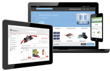 Digital StoreFront is a flexible, Web-to-print e-commerce solution that's available from EFI.