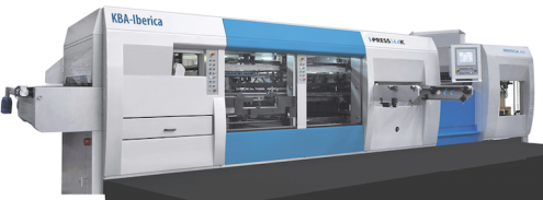 PRINT 17 New Product Showcase KBA-Iberica I-Press 106 K diecutter.