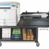 The Impressia digital multi-media press with the patented Enterprise High Speed Feed System from Xanté Corp.