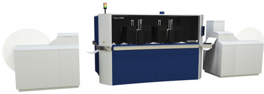 The new High Fusion Ink, from Xerox, produces results direct to offset coated paper on the Trivor 2400 High Fusion Inkjet Press.