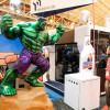Hulk smash! He's the creation of SGIA exhibitor Massivit 3D Printing Technologies, maker of 3D Printing systems for ultra-large format 3D displays.