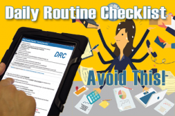 Why Employee Daily Routine Checklists Work Absolutely
