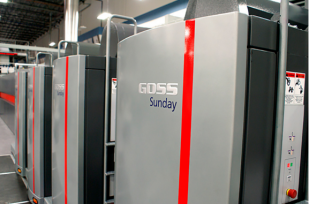 Master Graphics Purchases a Goss Sunday 2000 Press System