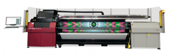 The new Jeti Ceres RTR3200 LED inkjet system from Agfa Graphics.