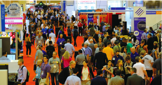 The crowds pour in to New Orleans' Convention Center to see the latest innovations in wide-format technology at 2017 SGIA Expo.