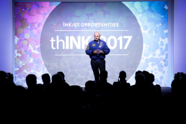 thINK 2017: Mark Kelly, commander of Space Shuttle Endeavour's final mission, provided a captivating keynote address.