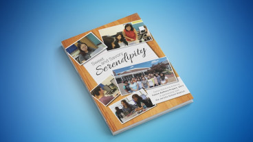 "Future Authors Project: The finished book, ""Sweet and Savory Serendipity."""