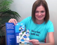 Fabulously Frugal Waterfall Double Parallel Brochure: 60-Second Fold of the Week