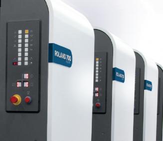 Manroland Offers Enhanced ProServ 360° Performance for Roland 700 Evolution Presses.
