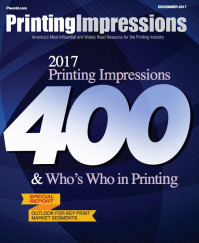 2017 Printing Impressions 400 Cover