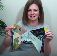 Cool Carousel Tuck-and-Mail Invitation - 60-Second Fold of the Week
