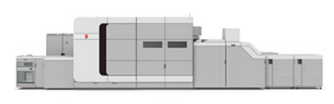 The Océ VarioPrint i300 inkjet color digital press.