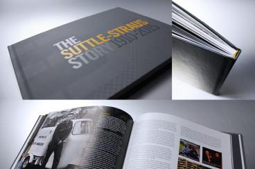 A case-bound book from Suttle-Straus.