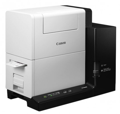 The CX-G2400 Inkjet Card Printer.