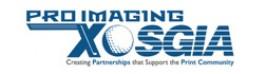 Pro Imaging Expo & SGIA Logo