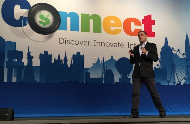 At EFI Connect 2018, EFI CEO Guy Gecht spoke before a crowd of more than 1,000 industry representatives at the Wynn Las Vegas to open the Connect 2018 users' conference. Nearly 1,500 users, partners and media have registered for the event.