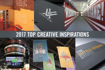 top seven creative inspirations of 2017 fromSuttle-Straus on LinkedIn.